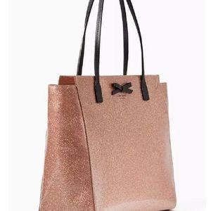 Kate Spade New York Mavis Street Glitter Tote Bag